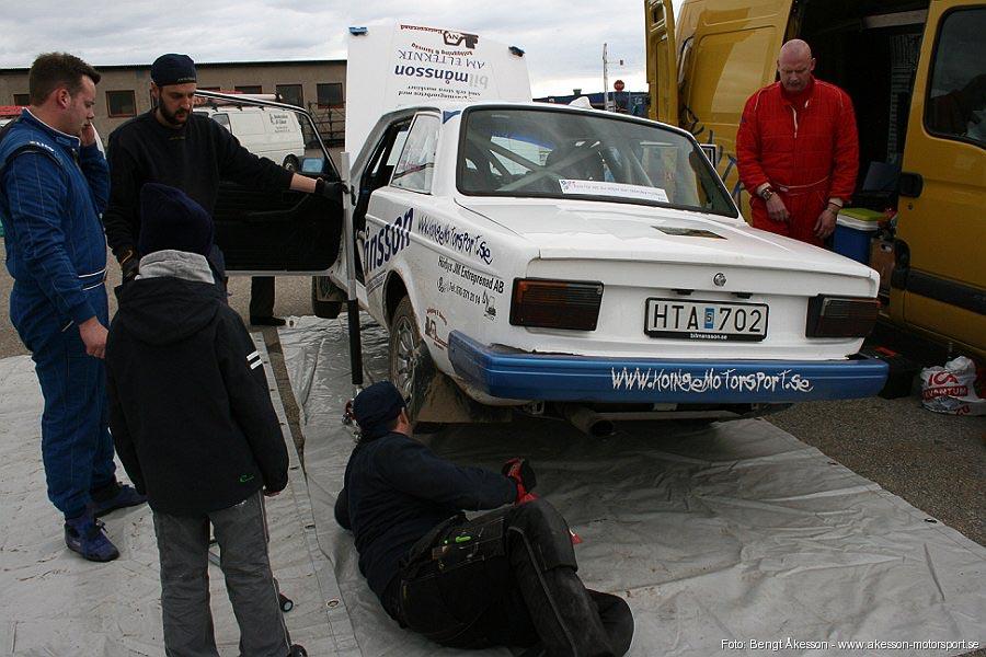 anderslövsrallyt 10 april 2010 arrangör trelleborgs motorklubb