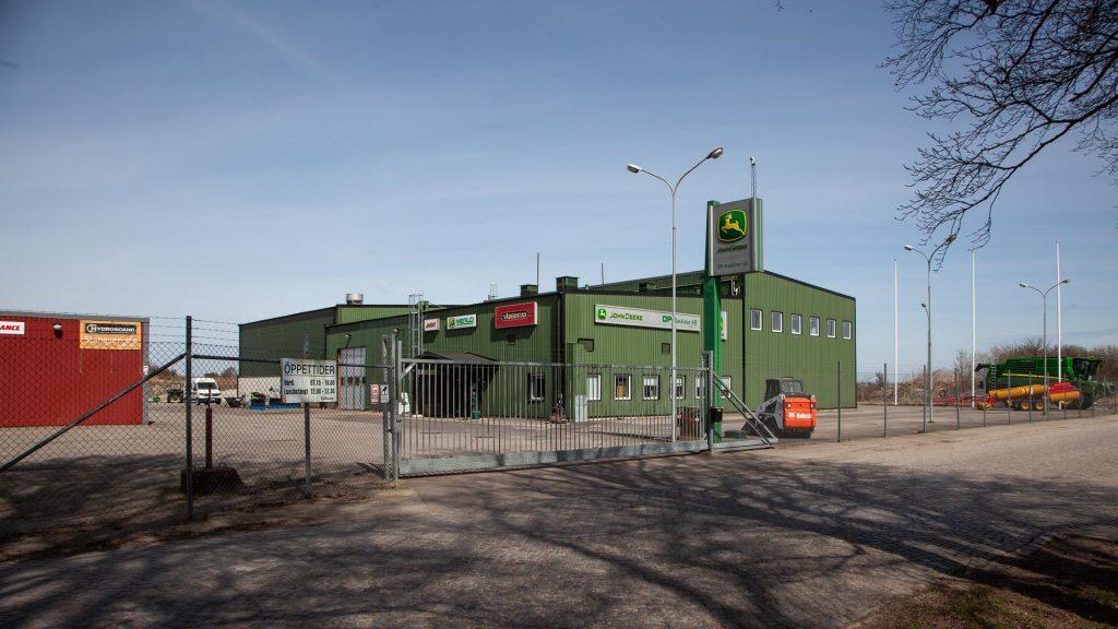 start och målplats för rally anderslöv foto håkan persson