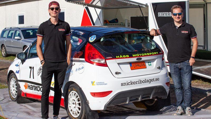 rallyträning i skånska slimminge hägg motorsport