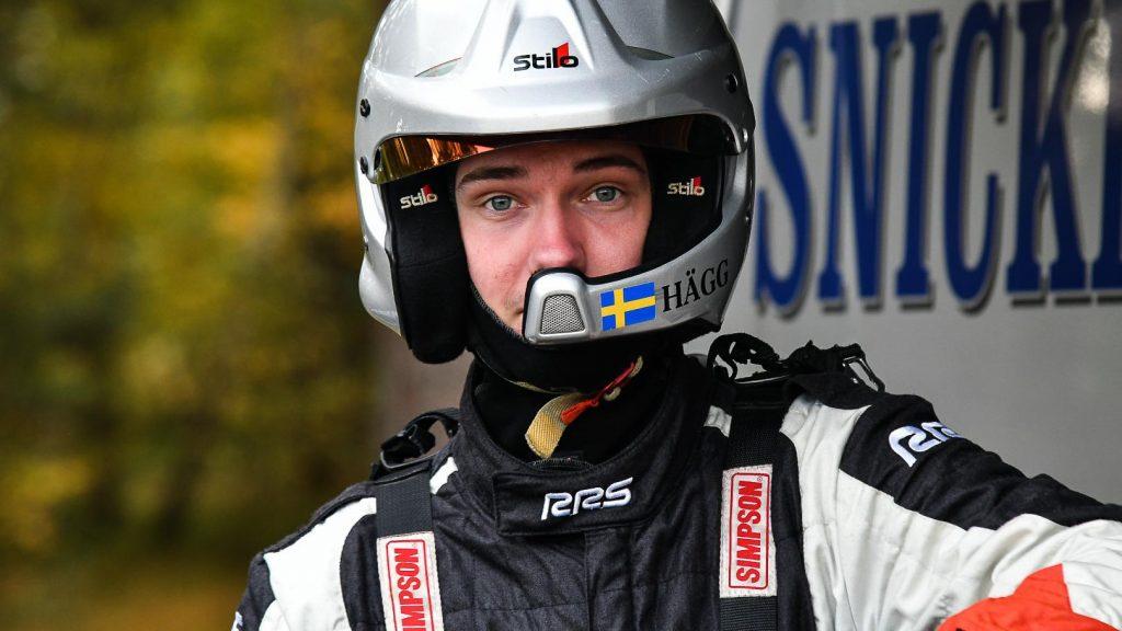 Lukas Hägg i Falsterbo Rallysprint 2020-10-24