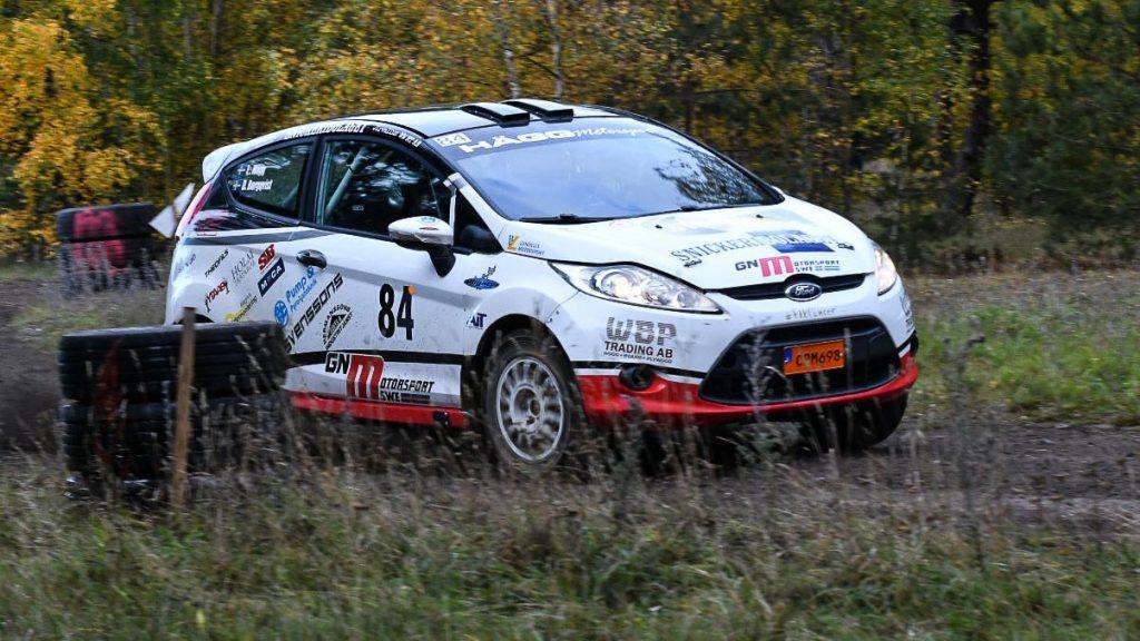 Lukas Hägg med kartläsare Daniel Borgqvist i Falsterbo Rallysprint 2020-10-24