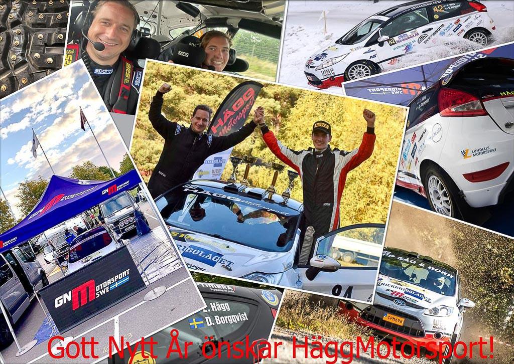 Hägg Motorsport önskar Gott Nytt År