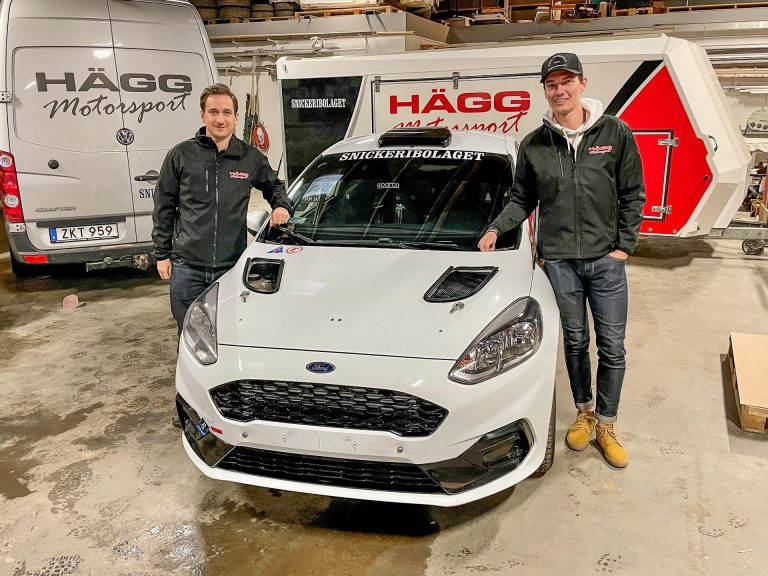Hägg Motorsports nya Ford Fiesta Rally4