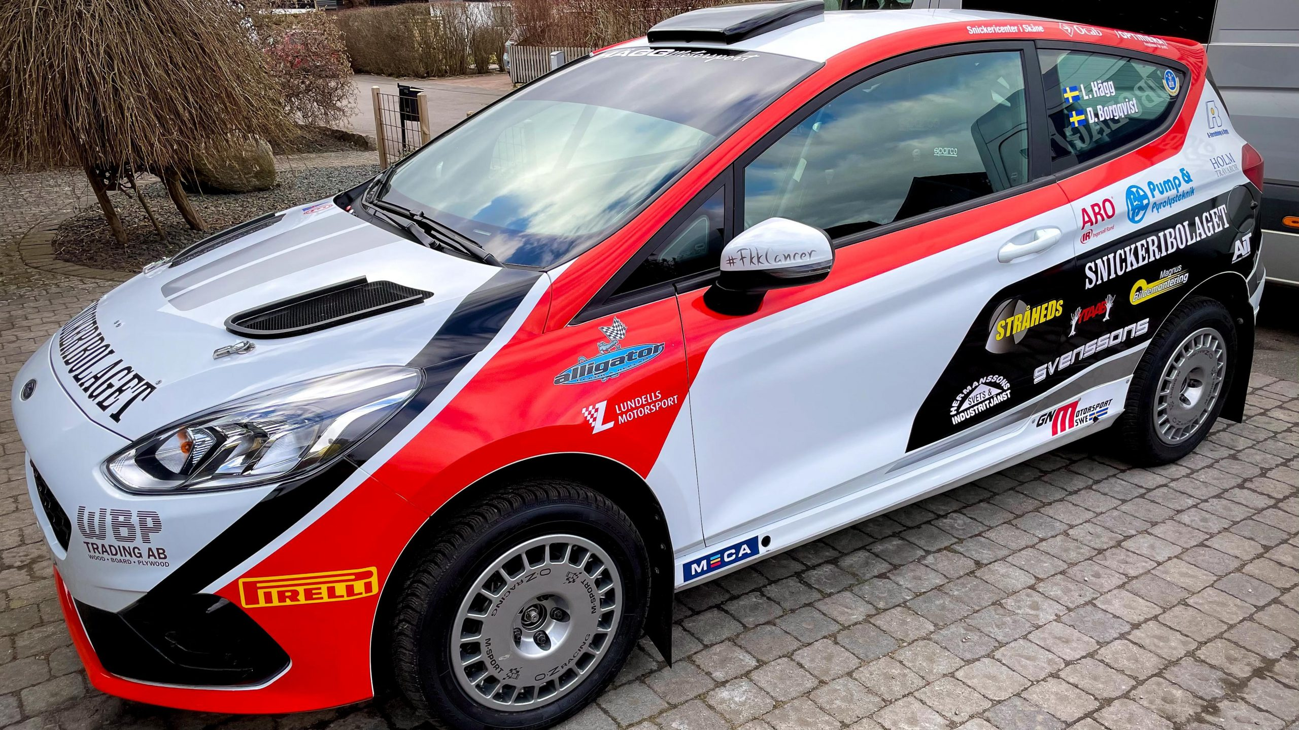 Häggs nystylade Ford Fiesta Rally4