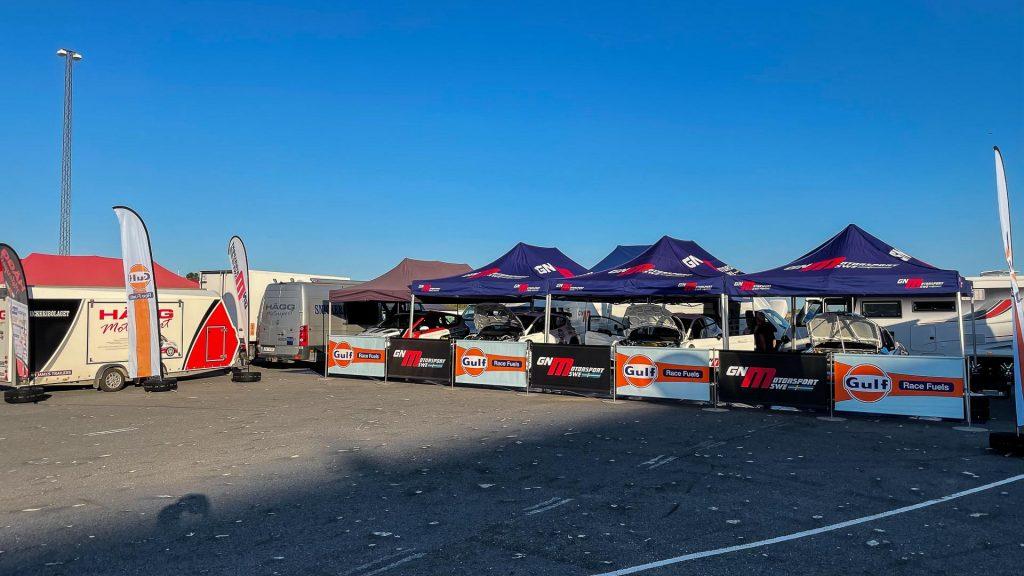 Team GN Motorsport i Tierp final i Asfalt-SM